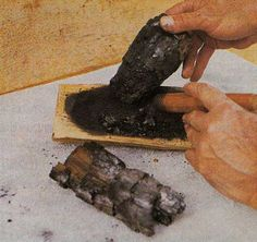 charcoal as first aid...interesting concept