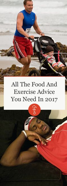 All The Food And Exercise Advice You Need In 2017 via @FatherlyHQ