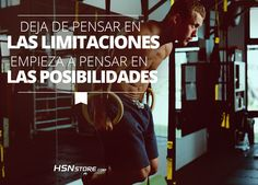 Empieza a pensar en las posibilidades #fitness #motivation #motivacion #gym…