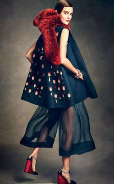 Monika Jac Jagaciak by Andreas Sjodin for Vogue Japan January 2015