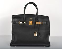 Hermes 35cm Birkin Black Tote Bag. Get one of the hottest styles of the season! The Hermes 35cm Birkin Black Tote Bag is a top 10 member favorite on Tradesy. Save on yours before they're sold out!