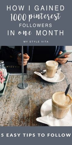 How to grow your pinterest following, blogging tips - @My Style Vita | Fashion & Lifestyle Blog