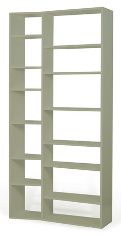 Shop the Berlin 5 Level Geometric Bookcase at Perigold, home to the design world's best furnishings for every style and space. Wide Bookcase, Etagere Bookcase, Modular Bookshelves, Bookcases, Large Shelves, Wood Shelves, Cube Storage, Storage Spaces, The Book Of You