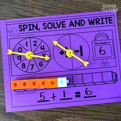 - A Kinderteacher Life Comparing Numbers Math Centers! - A Kinderteacher Life Subtraction Activities, Math Games, Math Activities, Numeracy, 1 More 1 Less Activities, Primary Maths, Primary Teaching, Teaching Math, Math Numbers