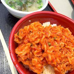 桜エビ丼‼︎(爆笑) - 88件のもぐもぐ - 変わった朝ごはん‼︎(笑) by giacometti1901