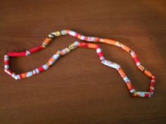 How to Make Beads out of Recycled Chip Bags