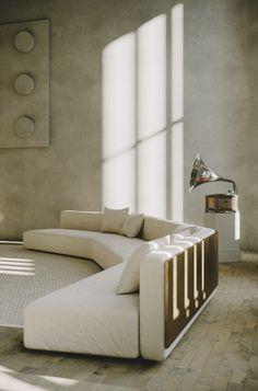 Sofa Furniture, Furniture Design, Interior Architecture, Interior And Exterior, Unique Sofas, Sofa Upholstery, Lounge Sofa, Bedroom Styles, Sofa Design