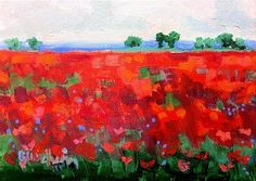 "Daily+Paintworks+-+""Color+Field+11""+-+Original+Fine+Art+for+Sale+-+©+Linda+Blondheim"