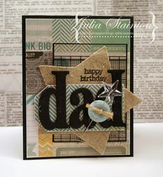 a card for dad - Belle Papier
