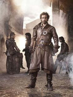 THE MUSKETEERS. LOVE Santiago Cabrera and this new show.