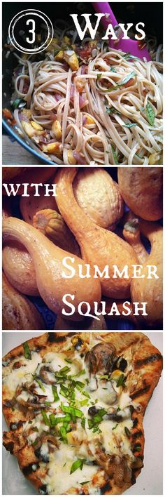 3 Easy Ways to use up all that summer squash in the garden!