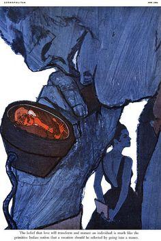 An inspiration for Mad Men? - illustration by Bob PeakAn inspiration for Mad Men? - illustration by Bob Peak Man Illustration, American Illustration, Bob Peak, Kunst Poster, Arte Horror, Art Graphique, Pulp Art, Looks Cool, Art Inspo