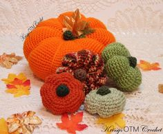 "It's so good to see you on ""My Side Of The Mountain""! Let's crochet a Big Pumpkin! It's easy! Decorating with these lovely Big Pumpkins is so much fun! Crochet Pumpkin Pattern, Crochet Mandala Pattern, Knit Or Crochet, Crochet Baby, Free Crochet, Crochet Patterns, Crotchet, Crochet Ideas, Biggest Pumpkin"