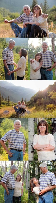 Couples Photography | Middle Aged Couple Ideas | Mountains | Couple Photography Ideas | Older Couples | Indiana | Utah