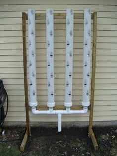 Vertical Strawberry Growing Systems | Vertical strawberry grower (I will be using this for many types of herbs and fruit) self watering o course Jack