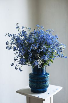 Forget-me-nots. In Finnish 'lemmikit' - Suvi sur le vif | Lily.fi