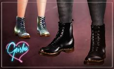DrMartens Boots by Geisha - Sims 3 Downloads CC Caboodle