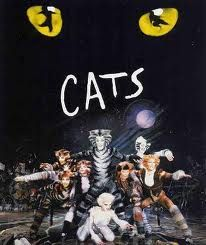 "Musical ""Cats"", composed by Andrew Lloyd Webber with catchy lyrics from T. Eliot is amazing for people who like cats. It's the second longest running musical of Broadway. On broadway November 2017 with Dance Unlimted free & Velinda. Musical Cats, Film Musical, Teatro Musical, Movie Film, Broadway Plays, Broadway Theatre, Musical Theatre, Broadway Shows, Arts Theatre"