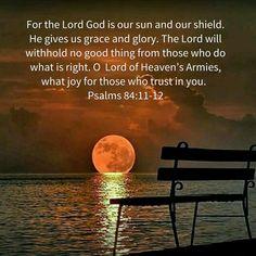 Psalm 84:11-12
