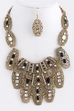Exotic and Unique Necklace Set! You Look Beautiful, Unique Necklaces, Necklace Set, Exotic, Jewelry, Fashion, Moda, Jewlery, Bijoux