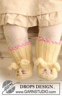 Easter Bunny Booties