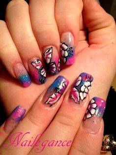 Butterfly Nails - Nail Art Gallery nailartgallery.nailsmag.com by NAILS Magazine nailsmag.com