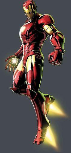 Iron Man by Shinkiro * - Marvel Vs. Marvel Comic Character, Comic Book Characters, Comic Book Heroes, Marvel Characters, Comic Books Art, Comic Art, Marvel Comics, Heros Comics, Marvel Heroes