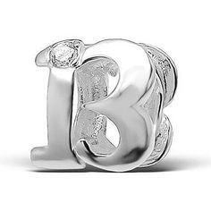 925-Sterling-Silver-Number-13-Thirteen-13th-Birthday-Charm-Bead-Compatible-with-Pandora-Chamilia-Troll-Charm-Bracelet