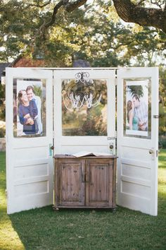 This adorable setup is the perfect amount of country | Camp Lucy | Ian's Chapel | Luke & Cat Photography | #camplucyjoy