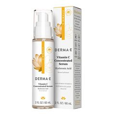 Amazon.com: DERMA-E Vitamin C Concentrated Serum, 2 Fluid Ounce: Beauty