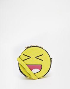 761d0a0b811 Skinnydip Emoji Face Crossbody Bag Search for more Handbags by Skinny Dip  on Wantering.