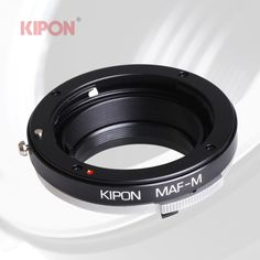 Kipon Adapter for Minolta AF/Sony Alpha Lens to Live view Leica M Typ 240 Camera #Kipon