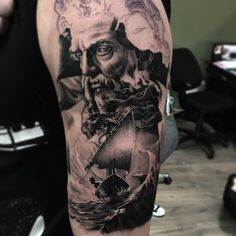 #mulpix Start of a Greek mythology sleeve! Can't wait for the next session…