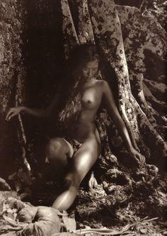 Adolphe Sylvain(?)Tahitian Beauty, circa 1950-1960