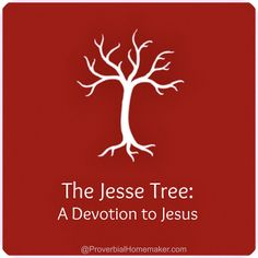 The Jesse Tree Christmas tradition and the heart behind it. From ProverbialHomemaker.com