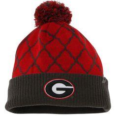 Georgia Bulldogs Top of the World Women's Diamond Dust Knit Hat - Red - $22.99