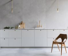 """107 Likes, 37 Comments - Customfronts (@custom_fronts) on Instagram: """"Had to share this one from the photoshoot yesterday of a midcentury style white kitchen with circle…"""""""