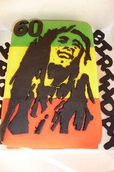 Bob Marley cake www.littlelambbakery.co.uk
