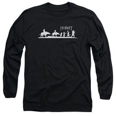 Hobbit/Orc Company Long Sleeve Adult T-Shirt 18/1 in