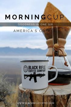 Black Rifle Coffee Company - Get ready for your spring and summer adventures with BRCC enamel mugs! Perfect to throw in a backpack and hit the trails!!    #AmericasCoffee #BlackRifleCoffee Coffee Coffee, Coffee Maker, Black Rifle Coffee Company, Elixir Of Life, Coffee Products, Coffee Recipes, Good Company, Teas, Backpack
