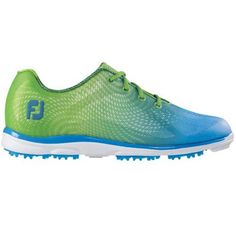 Shop for FootJoy EmPower Golf Shoes 2015 Ladies Lime/Blue. Get free delivery On EVERYTHING* Overstock - Your Online Golf Equipment Destination! Shoes For Less, Shoes 2015, New Golf, Womens Golf Shoes, Sporty Outfits, Women's Feet, Golf Outfit, Ladies Golf, Women Empowerment