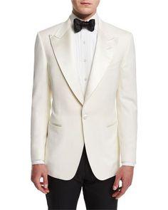 Windsor Base Dinner Jacket, White