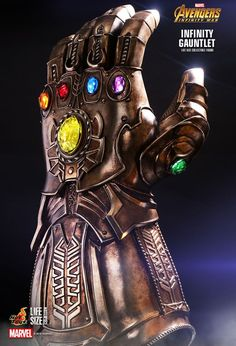 Since the debut announcement of Marvel Studio's blockbuster, Avengers: Infinity War, fans were instantly thrilled and captivated by the mysterious Infinity Gauntlet, as one who possesses the Infinity Gauntlet shall gain omnipotent power. Marvel Vs, Marvel Dc Comics, Marvel Heroes, Marvel Infinity, Avengers Infinity War, Marvel Characters, Marvel Movies, Avengers Movies, Thanos Avengers