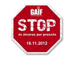 STOP Úlceras Por Pressão - 16.11.2012 | GAIF - Grupo Associativo de Investigação em Feridas