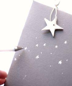 Crea tu propio papel de regalo y seguro que le encantará