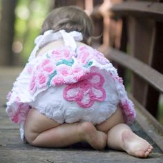 chenille bloomers + dress