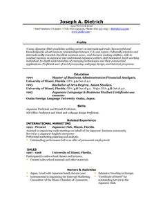 High School Student Resume Example  Teaching  Facs