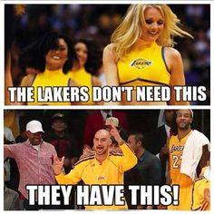 Lakers Cheerleader