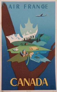 vintage canadian pacific posters - Google Search