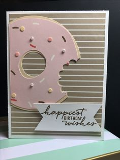 Stampin' Up! May 2017 Paper Pumpkin kit -Alternate project